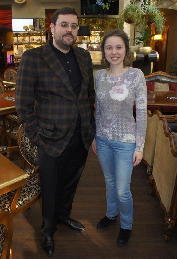 Павло Куфтирєв і Марія Музичук